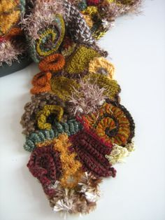 Free Form Crochet Stitches Tutorials | Labels: freeform crochet