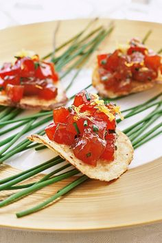 ... potato canape recipes smoked salmon tartare and potato chip canapes