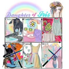 """Daughter of Iris ~ Wardrobe"" by liesle on Polyvore"