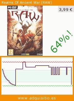 Realms Of Ancient War (RAW) (Juego de ordenador). Baja 64%! Precio actual 3,99 €, el precio anterior fue de 11,17 €. https://www.adquisitio.es/badland-games/raw-realms-of-ancient-war-0