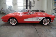 1958 CHEVROLET CORVETTE CONVERTIBLE - 206982