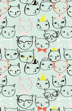 Cats, from the Alanna Cavanagh blog