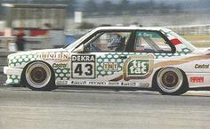 BMW M3 E30 DTM 1991 #43 Tic Tac A. Berg