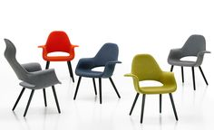 Charles Eames & Eero Saarinen Organic Chair produced by Vitra