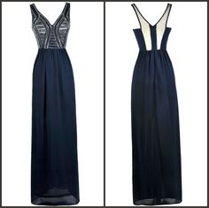 This bold embellished maxi dress is perfect for prom or your next formal event!  http://ss1.us/a/zGyZ7HGx