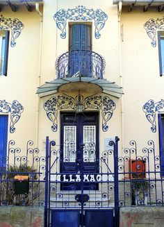 Art Nouveau Colonia Del Tibidabo Barcelona Espana via Just Sparkles