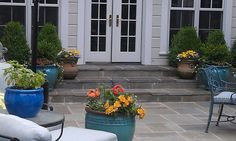 Colorful Patio - The Maher Home