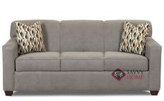 Geneva Queen Sleeper Sofa by Savvy. Exquisite style and superior comfort. Customizable.