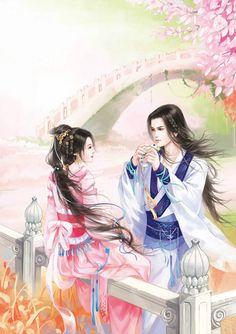 恋姬采集到蝶双飞(205图)_花瓣插画/漫画 Anime Art Fantasy, Fantasy Girl, Manga Illustration, Illustrations, Chinese Culture, Chinese Art, Fantasy Couples, Fantasy Art Landscapes, L5r