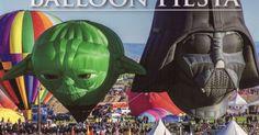 2016 Albuquerque, NM Balloon Fiesta. Two of the favorites.