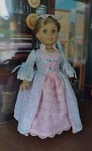 Summer Ballgown for American Girl Felicity by Newyorkdolldesigns listed on ebay