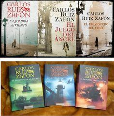 Colección, todos los libros de Carlos Ruiz Zafón full PDF: * El cementerio de los libros olvidados. * La trilogía de la niebla.  http://helpbookhn.blogspot.com/2013/06/coleccion-todos-los-libros-de-carlos.html