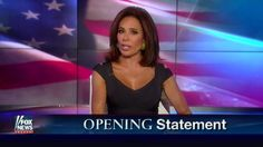 Judge Jeanine delivered a fiery opening statement in which she claims 'America first is a breath of fresh air and exactly what this country needs.'