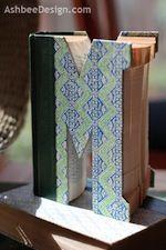 Monogram old book - Ashbee Design