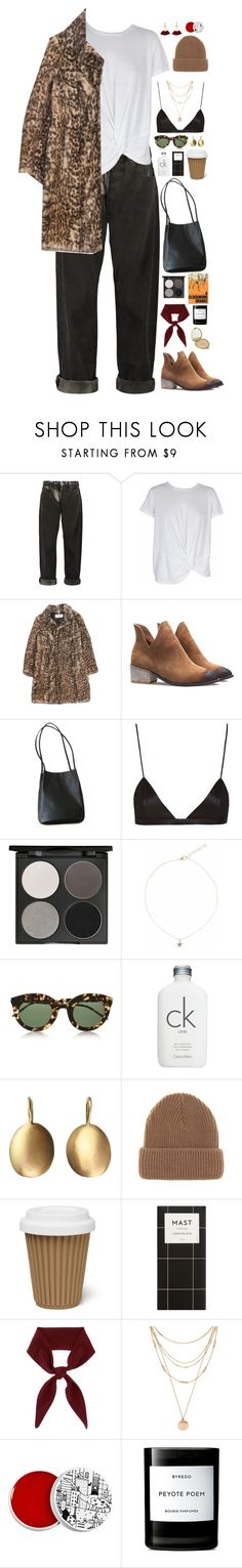 """""""Untitled #3002"""" by wtf-towear ❤ liked on Polyvore featuring McQ by Alexander McQueen, MINKPINK, Yves Saint Laurent, NYX, Gorgeous Cosmetics, Liz Law, Calvin Klein, Conroy & Wilcox, Wood Wood and Chloé"""