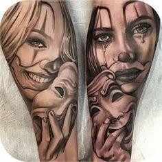 Chora Agora Ri Depois | Tatuagem.com (tatuagens, tattoo)