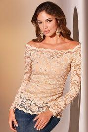 Floral lace top 89