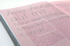 elisabeth schmirl textseite close Print Design, Graphic Design, Eyeshadow, Layout, Art, Eye Shadow, Page Layout, Eyeshadow Looks, Kunst