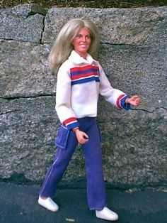 Bionic Woman Doll...Ahhh Memories