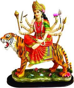 "Durga on Tiger 13"""