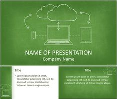 Cloud Computing PowerPoint Template
