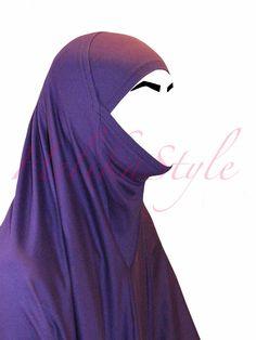 Iranian style al-Amira hijab sewing tutorial :: HelikaStyle