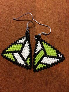 #zsuwel #earring #jewellery #peyote