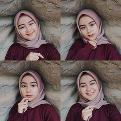 Image may contain: 4 people Casual Hijab Outfit, Hijab Chic, Ootd Hijab, Muslim Girls, Muslim Women, Selfie Poses, Selfie Ideas, Hijab Style Tutorial, Modern Hijab Fashion