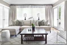 Good greige color for family room