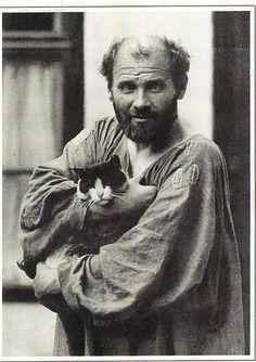 Gustav Klimt Used Cat Urine as Fixative Gustav Klimt, Artist Life, Artist Art, Art History Lessons, Art Lessons, Art Curriculum, School Art Projects, Portraits, Ap Art