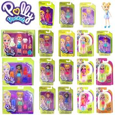 POLLY POCKET DOLL TRENDY OUTFIT ACCESSORIES 9cm ACTIVE DOLLS NEW SHANI LILA SET | eBay Baby Girl Toys, Toys For Girls, Baby Dolls, Polly Pocket World, Poly Pocket, Baby Sounds, Ariel Doll, Barbie Doll Set, Custom Monster High Dolls