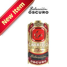 Shop Now E.P Carrillo Elite Series Seleccion Oscuro Small Churchill Cigars - Maduro Box of 24 | Cuenca Cigars  Sales Price:  $157.99