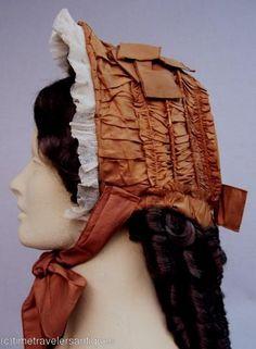 drawn bonnet 1850's-60's ?