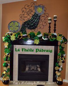 St. Patricks Mantle!