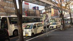 年末日曜日のJR小倉駅~モノレール平和通り周辺 4K動画 ペットミッキン