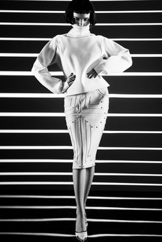 VISUELLE: Elena Sartison (Women Milan) by Umberto Barone for Bambi Magazine