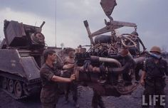 Vietnam War colour photos
