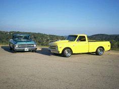 68 & 69 chevy trucks