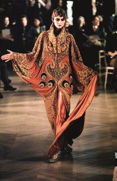 Dior desfile alta-costura inverno 1998