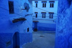 One of the million twists in Chefchaouen Morocco