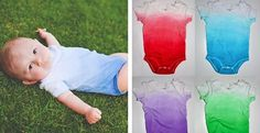 Ombre Dyed V-Neck Onesies – 13 colors!