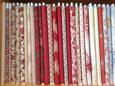 A selection of fabric including a new Christmas range -Magic Patch Quilting