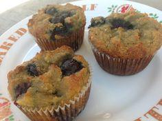Grain free banana blueberry muffins