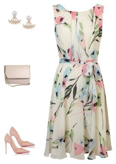 """""""Soft flowers."""" by classic-e on Polyvore featuring Phase Eight, Humble Chic, Christian Louboutin and Givenchy"""