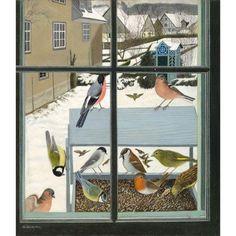 Birds on Riser - Adolf Dietrich