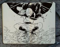 Avatar la leyenda de Aang (Aang)