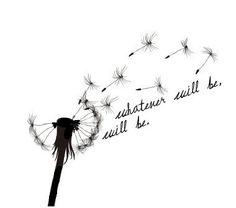 dandelion blowing in the wind tattoo - Google Search