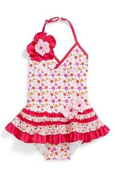 Isobella & Chloe 'Spring Daisy' One-Piece Swimsuit (Toddler Girls) available at #Nordstrom