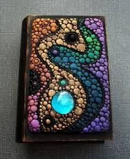Image result for polymer clay box with flat sheets