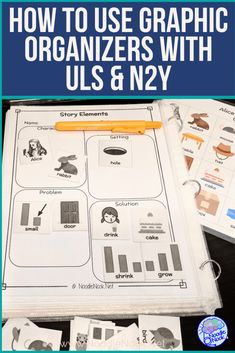 Tips on improving comprehension in SpEd specifically for students with significant disabilities using graphic organizers. Strategies work with Unique Learning (ULS) and programs! Life Skills Classroom, Autism Classroom, Special Education Classroom, Reading Comprehension Skills, Comprehension Activities, Unique Learning System, Math Notebooks, Project Based Learning, Graphic Organizers